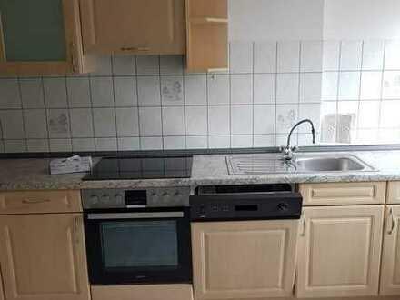 Vollständig renovierte 2-Zimmer-DG-Wohnung mit Einbauküche in Retzow