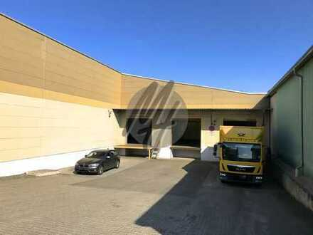 KEINE PROVISION ✓ NÄHE BAB 5 ✓ Lagerflächen (850 m²) & optional Büroflächen zu vermieten