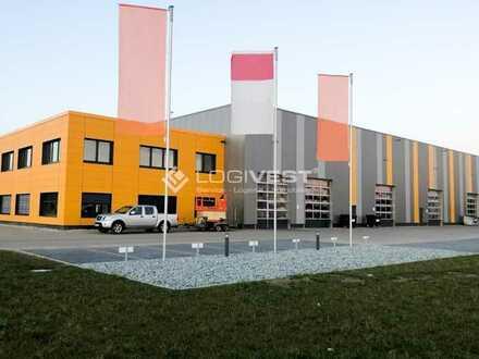 Gewerbehalle mit großzügiger Freifläche zu verkaufen