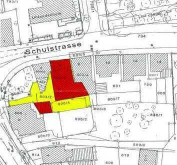 Grundstück in zentraler Lage von Pfullingen für Mehrfamilienhaus-Bebauung
