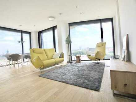 1,5 Zimmer Luxuswohnung (kompl.möbliert) mit einzigartigem Panoramablick über München
