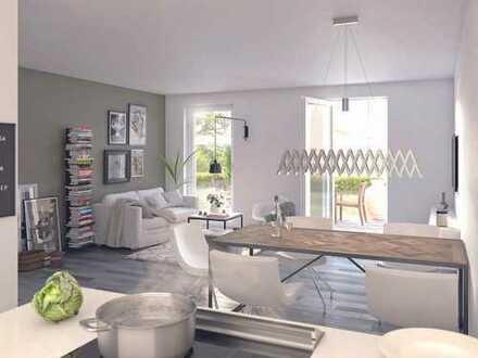 In dieser Eigentumswohnung lässt es sich leben. 3-Zimmer-Neubauwohnung mit großer Loggia in Hürth