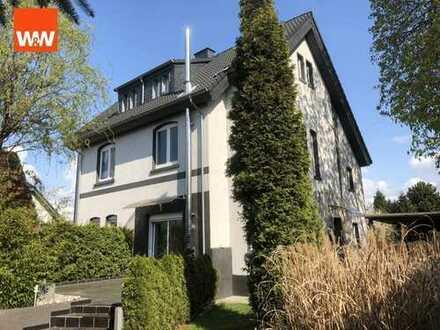 Großzügiges Einfamilienhaus als Doppelhaushälfte mit Terrasse auf einem großem Gartengrundstück