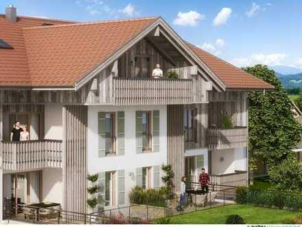 2-Zimmer Terrassenwohnung im Herzen von Bad Wiessee