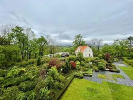Zentral - Gemütlich - Schöner Blick! 2-Zimmer-Wohnung mit Balkon mitten in Murnau