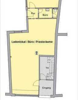 Vermietung! Marktplatznähe! Ladenlokal/Büro/Praxis in der Innenstadt von Borken