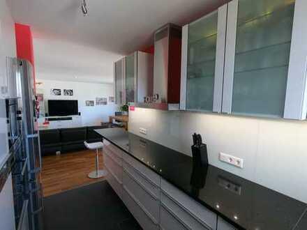 Gepflegte 4-Zimmer-Wohnung mit tollem Westbalkon und hochwertiger Einbauküche in Mainz-Gonsenheim