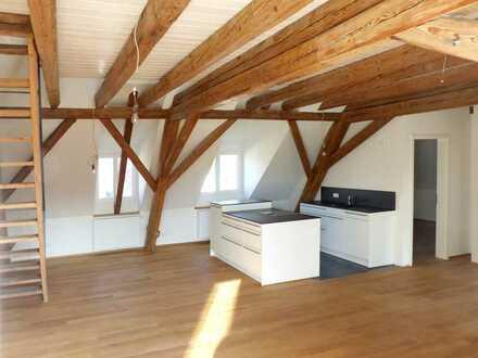 3-Zimmer-DG-Wohnung mit Galerie und Loggia in Schliengen