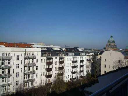 Repräsentative Büroeinheit - Blick über die Dächer von Leipzig Zentrum-Süd -