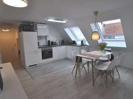 Helle und geräumige 4 Zimmer Maisonette Wohnung Stadtmitte Metzingen