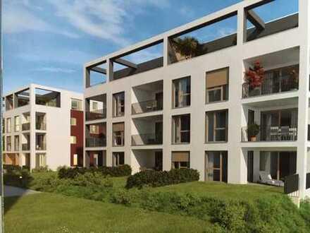 Schöne, geräumige 3-Zimmer-Wohnung mit Dachterrasse (Penthouse)