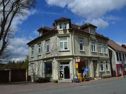 Historisches Wohn- und Geschäftshaus im Herzen von St. Andreasberg