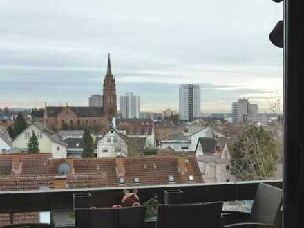 Über den Dächern von Langen. Herrlich.