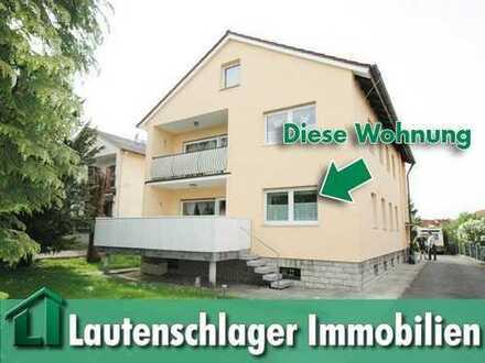 Ideal für das Paar! Großzügige 3-Zimmer-Wohnung mit Gartenanteil in Neumarkt-Woffenbach