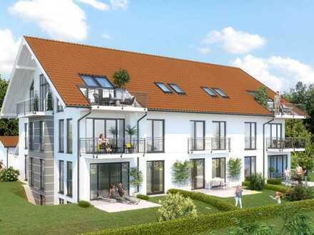 """Raum und Sonne! 3-Zimmer-Wohnung in einer kleinen """"privaten"""" Wohnanlage auf schönem Gartengrundstück"""