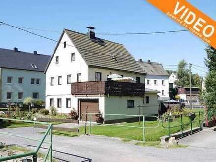 Gut geschnittenes, saniertes Einfamilienhaus in der Nähe von Brand-Erbisdorf