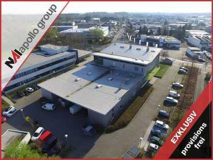 IM ALLEINAUFTRAG | Gewerbeliegenschaft mit ca. 1.067 m² Halle | PROVISIONSFREI zu vermieten