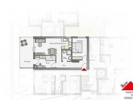 3-Zimmer-Wohnung mit Sonnenterrasse!