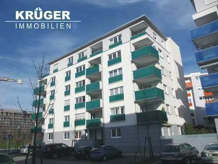 KA-Südoststadt / helle & gepflegte 3-Zi-Whg mit Loggia im City Park / ab 01.09.2020