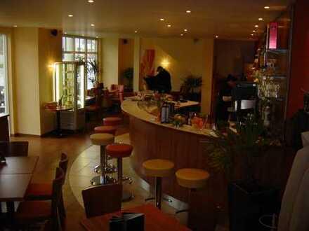 Cafe Bar Bistro in Bad Kissingen, 1A-Lage