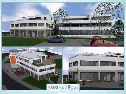 Erstbezug nach Neubau des HausMedicus! Seniorengerecht und barrierefrei!