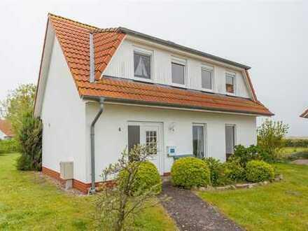 Blick auf den Bodstedter Bodden - Ferienhaus in bester Lage