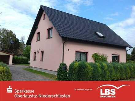 Neuwertiges Wohnhaus in ruhiger Lage von Daubitz