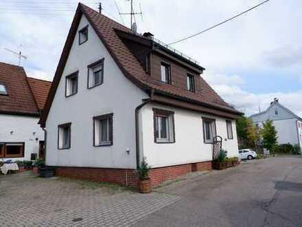 die Alternative zur Wohnung, Einfamilienhaus mit EBK, Garten und Garage in Dagersheim