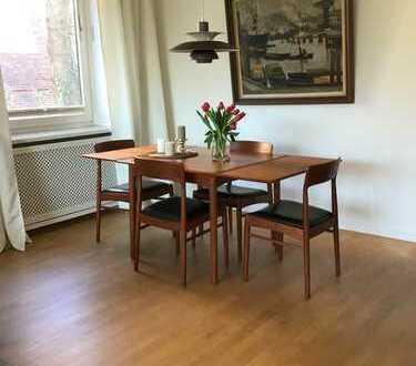 **Möbliert Wohnen auf Zeit**: Blankenese Centrum direkt am Hesse Park