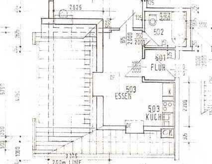 Schöne 2-Zimmer-Dachgeschosswohnung mit Einbauküche in Hohen Neuendorf