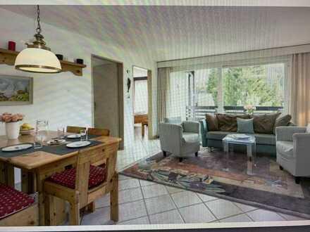 Stilvolle, gepflegte 3-Zimmer-Wohnung mit Balkon und Einbauküche in CH Lenzerheide