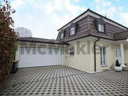 Wohntraum mit luxuriöser Ausstattung: Stilvolles 5-Zi.-EFH mit Terrasse, Balkon und Doppelgarage