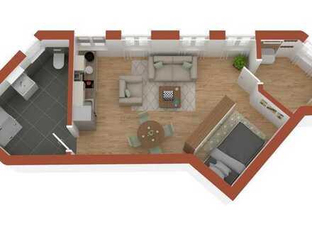 Klein aber fein! 1-Zimmer-Wohnung für individuellen Ausbau