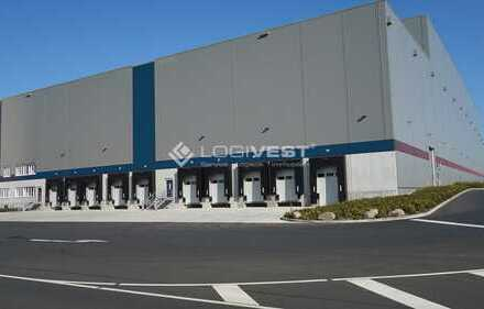 Neuwertige Lager,- Logistik-und Produktionshalle