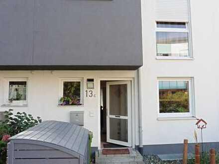 Schönes Haus mit fünf Zimmern in Augsburg, Innenstadt mit Garten, Terrasse und Dachterrasse