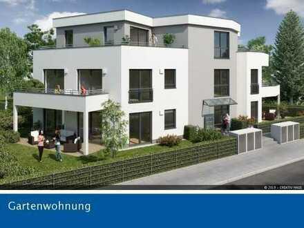 CREATIV HAUS - Großzügige 3-Zi.-Garten-Whg., 105m² Privatgarten, S2- 500m