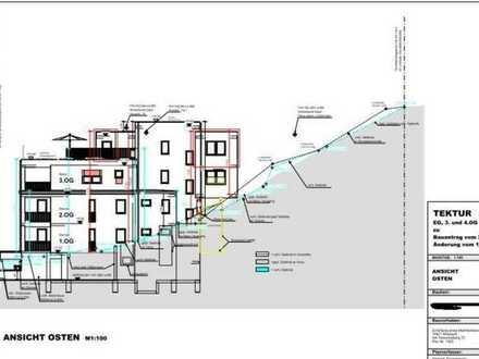 Grundstück in Mosbach mit projektiertem Bauvorhaben für 4. Wohnetagen