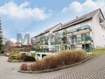 Attraktiv und unkompliziert: Helle 5-Zi.-Maisonette-Wohnung mit Terrasse in naturnaher Umgebung