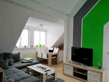 Wunderschöne 2-Zimmer-Dachgeschoss-Wohnung im Stadtzentrum von Kölleda