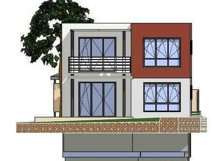 Grundstück mit Baugenehmigung für ein Zweifamilienhaus mit Carport (Alternativ Doppelhaus mgl.)