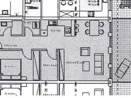 Erstbezug: helle 2-Zimmer-Wohnung mit West-Balkon in Bad König