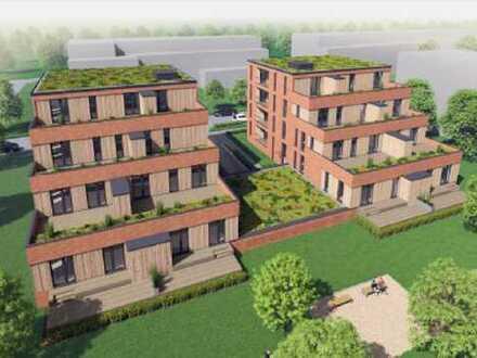 2-Zimmer-Wohnung mit großer sonniger Terrasse, EBK, Aufzug, TG