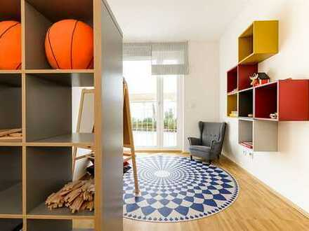 Moderner ERSTBEZUG: 3-ZIMMER-Wohnung mit Garten