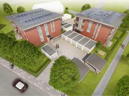Erstbezug in Ihre barrierefreie Traumimmobilie! 4-Zimmer-Wohnung mit Terrasse und Garten.