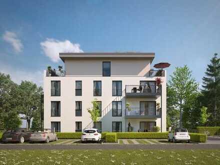 Attraktive 2-Zimmer-Wohnung mit schöner Terrasse und hochwertigen Materialien in bester Lage