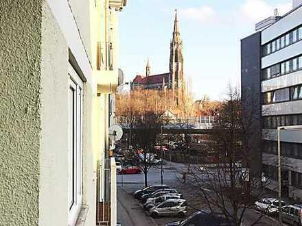 Schöne, gutgeschnittene 3- Zimmer Wohnung in super Lage Nähe Kolumbusplatz und Schyrenbad.