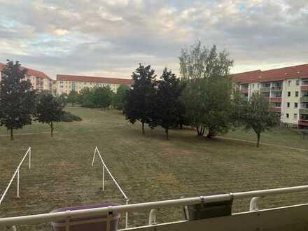 Schöne 2-Zimmer-Wohnung mit Balkon und EBK in Riesa