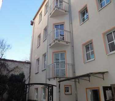 1-Raum Wohnung im Zentrum von Bautzen mit Balkon zur straßenabgewandten Seite