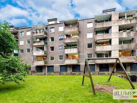 Vier Eigentumswohnungen und zwei Tiefgaragenplätze im Paket: Ein-Zimmer-Appartements in Unterbach!