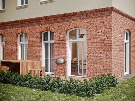 Gestalten Sie ihr zu Hause selbst! - Gartenwohnung mit ca. 225 qm eigenem Garten und Terrasse!